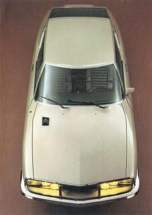 Citroën SM. Catálogo Francés de 1972.