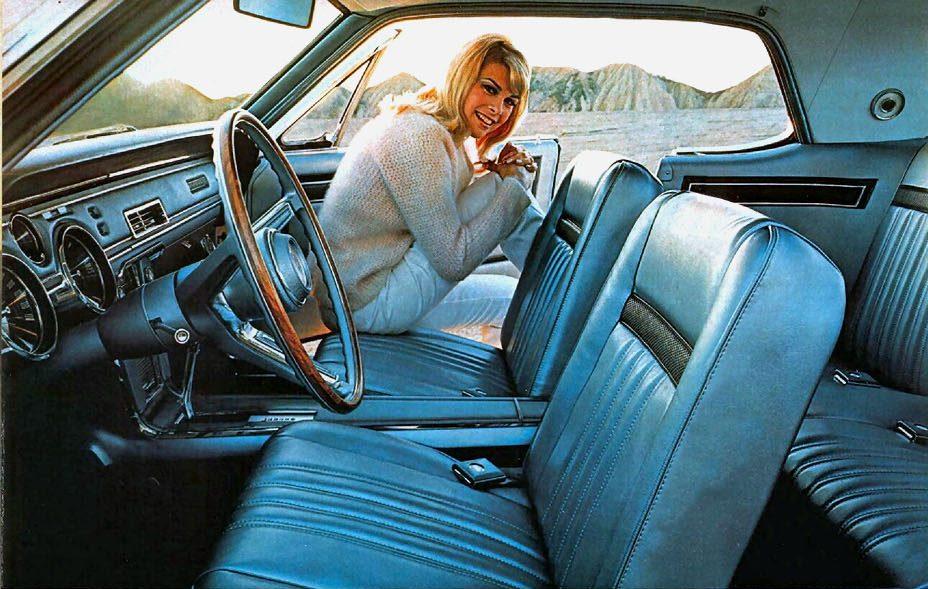 Foto: Mercury Cougar 67. Catálogo Mercury Gama 1967.