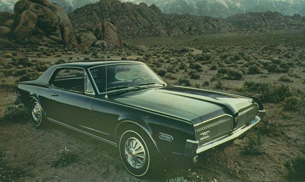 Foto: Mercury Cougar XR-7 68. Catálogo Mercury Gama 1968.