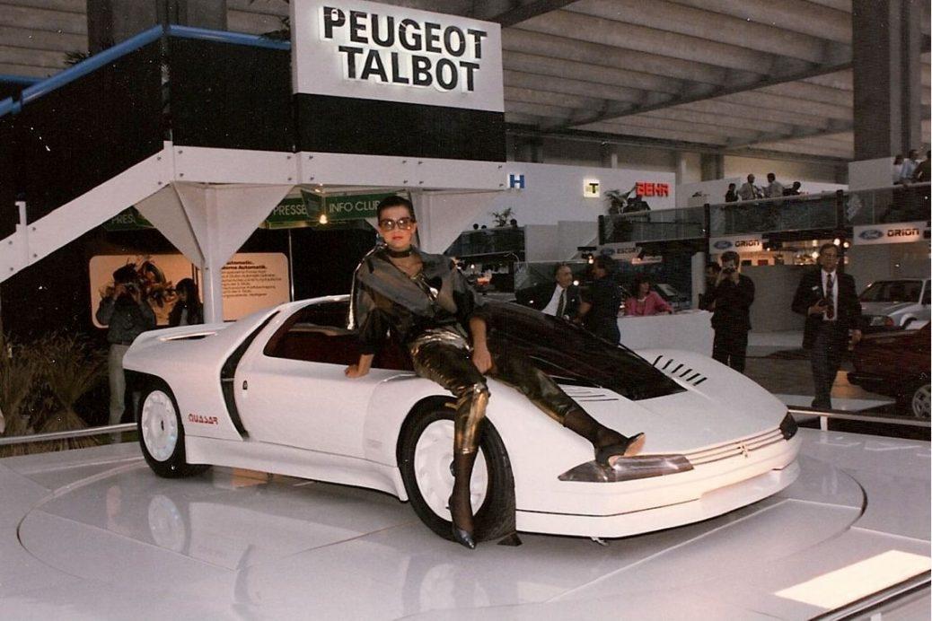 Peugeot Quasar, 1984. Foto: Peugeot
