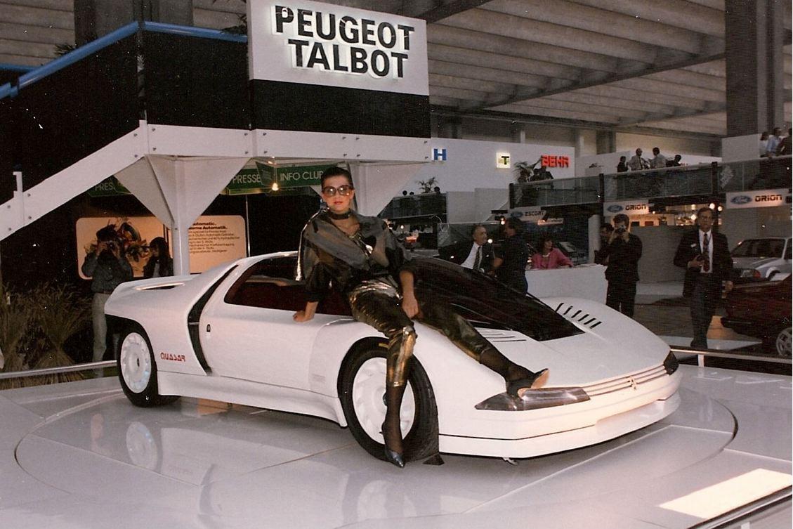Salón del Automóvil de París. Peugeot Quasar, 1984. Foto: Peugeot