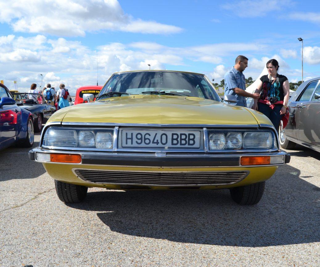 Citroën SM. Foto: Aaron Castellano, Jarama Vintage Festival, Junio de 2013