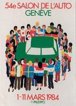Salón del Automóvil de Ginebra 1984