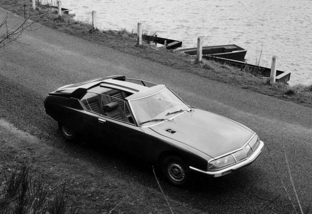 Citroën SM Heuliez Space, 1970. Citroën Communication. Pierre Guerce.