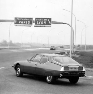 Citroën SM, 1970. Citroën Communication. Georges Guyot.