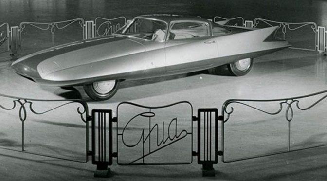 """<span class=""""entry-title-primary"""">Ghia Streamline X """"Gilda"""", 1955</span> <span class=""""entry-subtitle"""">Concept Car presentado en el Salón del Automóvil de Turín de 1955</span>"""