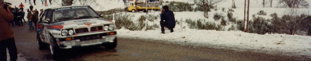 WRC 1989. Rally Montecarli, by Zimpala. Lic. libre GNU