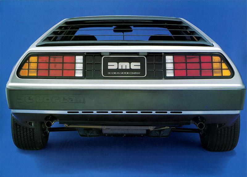 Trasera DeLorean DMC-12, Catálogo DeLorean