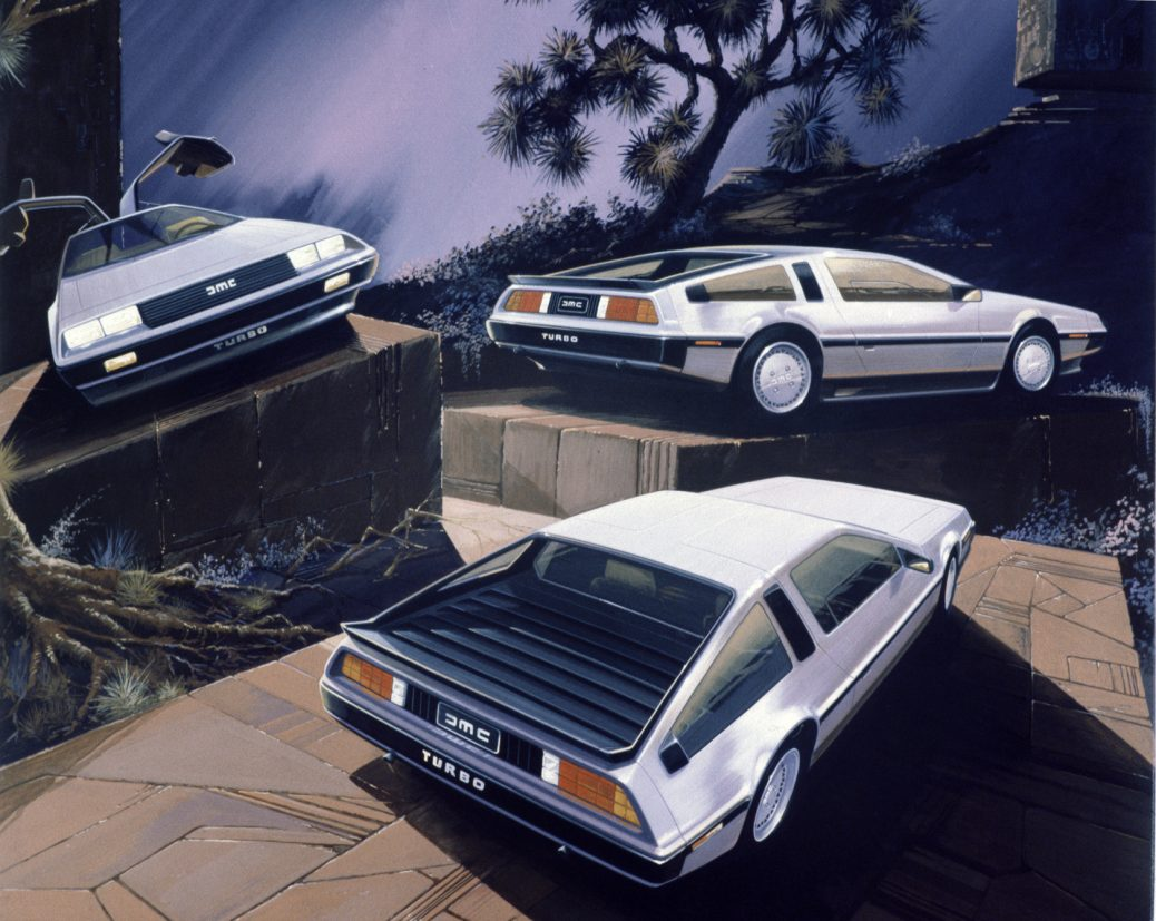 Bocetos DeLorean DMC-12, Foto: Italdesign