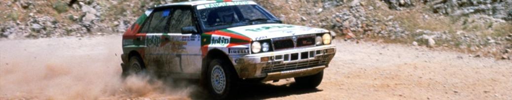 WRC 1988_Lancia Delta en el Rally Acrópolis. Foto: FCA