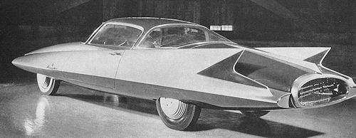 "Ghia Streamline X ""Gilda"", 1955"