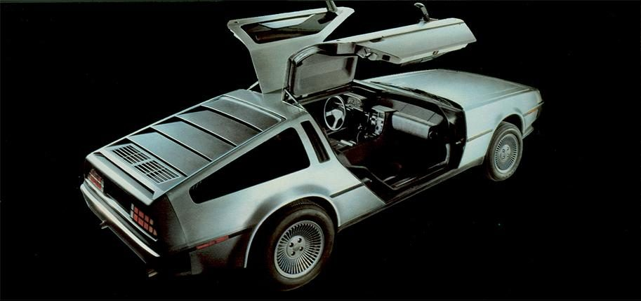 DeLorean DMC-12, Catálogo DeLorean