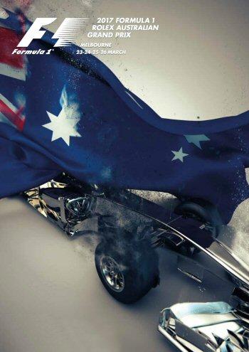 Póster Gran Premio de Australia 2017