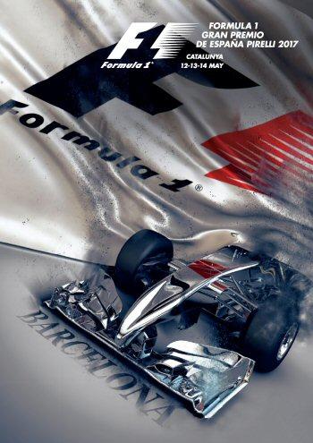 Póster Gran Premio de España 2017