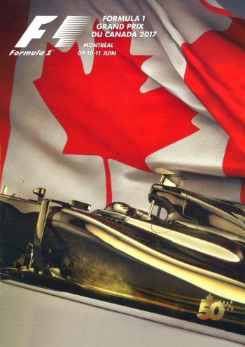 Póster Gran Premio de Canadá 2017
