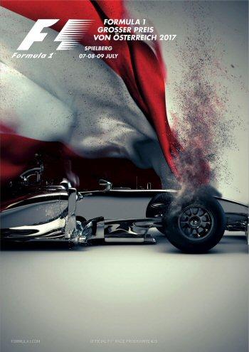 Póster Gran Premio de Austria 2017