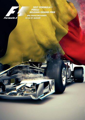 Póster Gran Premio de Bélgica 2017