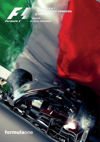 Póster Gran Premio de Italia 2017