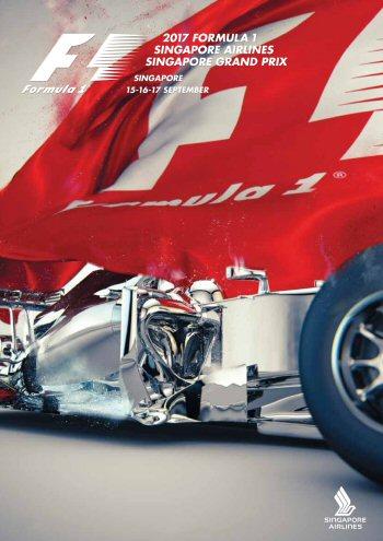Póster Gran Premio de Singapur 2017