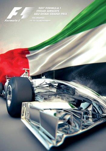 Póster Gran Premio de Abu Dhabi 2017