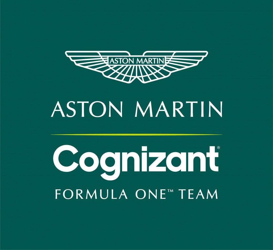 Logo Aston Martin Cognizant F1 Team