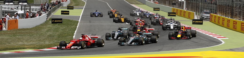 Salida Gran Premio de España 2017 Foto: Mercedes / Wolfgang Wilhelm