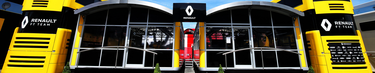 Motor Home Renault F1 Team, Foto: Renault F1 Team 2019