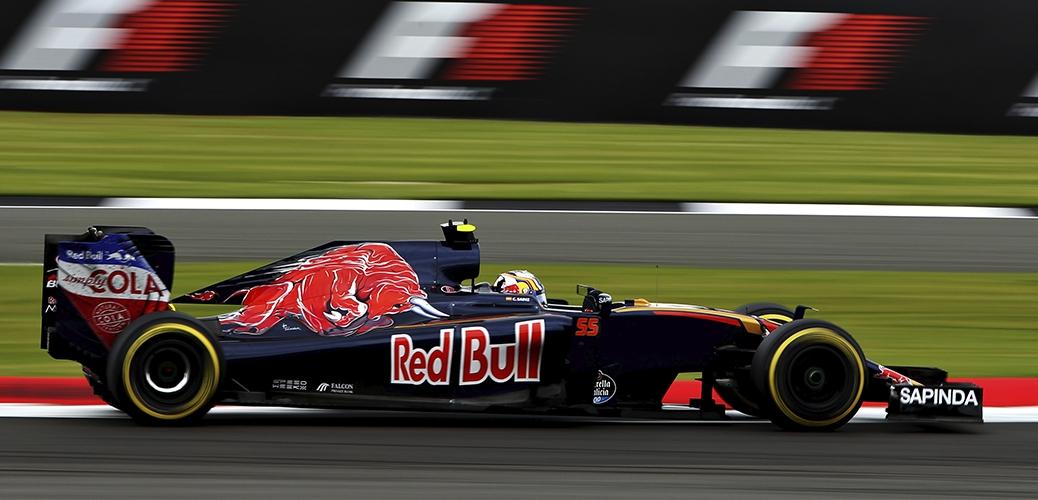 Toro Rosso-Ferrari STR11, Calificación durante el Gran Premio de Grab Bretaña, Foto: Red Bull