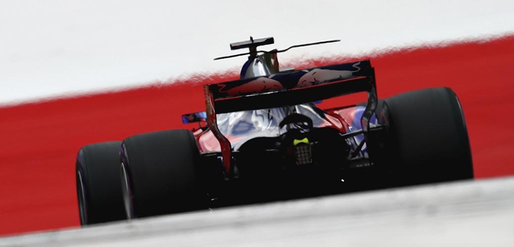 Toro Rosso STR12, Calificación del Gran Premio de Austria, Foto: Red Bull.