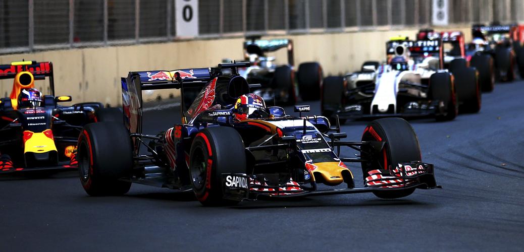 Daniil Kyvat, Gran Premio de Europa. Foto: Getty Images / Red Bull Content Pool