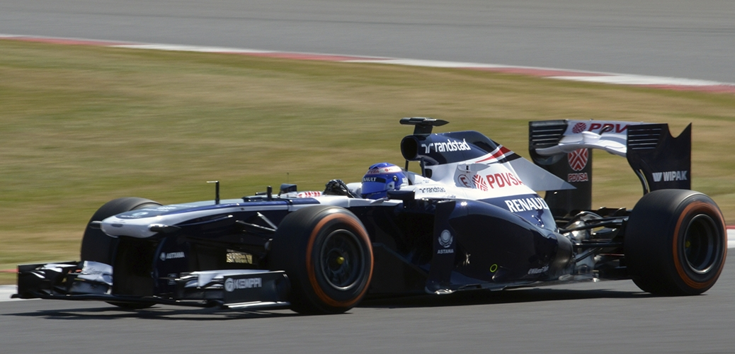 Williams-Renault FW35, Test de Barcelona en Febrero de 2013, Foto Nic Redhead, Creative Commons 3.0