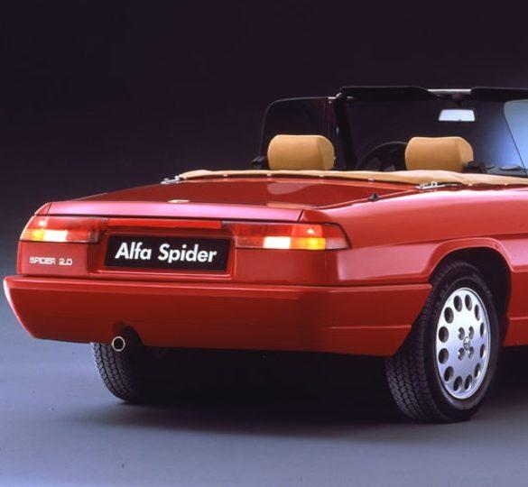 """Alfa Romeo Spider Serie 4 """"Última"""" Foto: Alfa Romeo"""