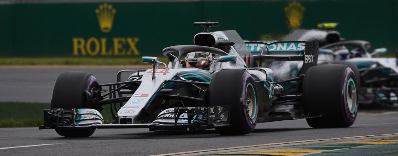 Sábado, Gran Premio de Australia, Foto: Mercedes/Steve Etherington