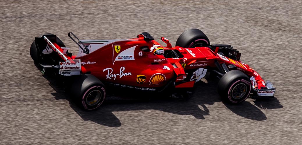 Vettel, Gran Premio de Estados Unidos 2017, Foto: Ferrari