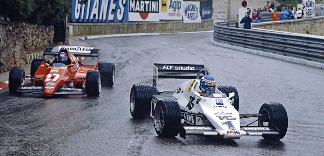 Monaco, Mayo de 1983, Keke Rosberg, Foto: LAT Photographic/Williams F1