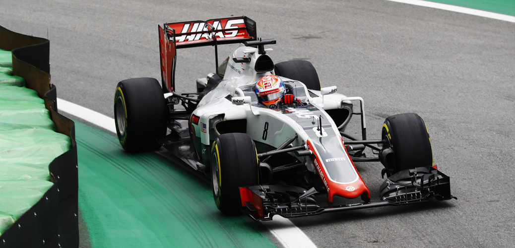 Romain Grosjean, Clasificación Gran Premio de Brasil 2016, Foto: Haas
