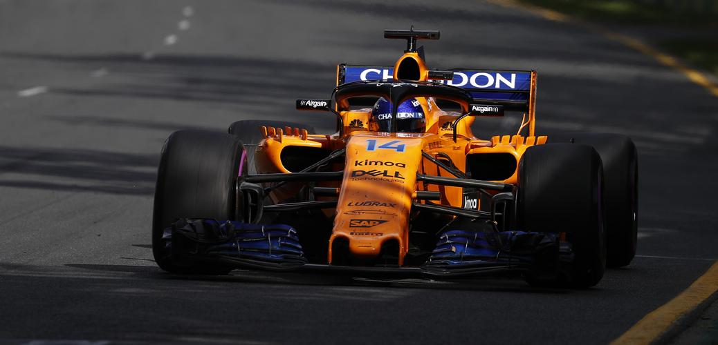 Fernando Alonso, McLaren-Renault MCL33, 2018 - Foto: McLaren