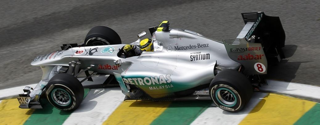Mercedes MGP W02. Calificación GP de Brasil, Foto: Mercedes, Wolfgang Wilhelm