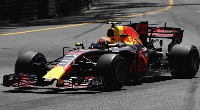 Max Verstappen, Mónaco 2017, Foto: Red Bull/Mark Thompson/Getty Images