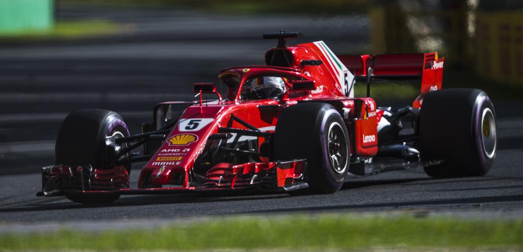 Sebastian Vettel, Gran Premio de Australia 2018. Foto: Scuderia Ferrari