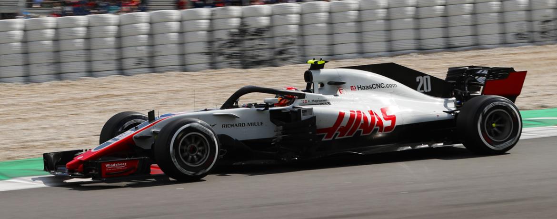 Haas-Ferrari VF-18, Circuito de Cataluña, Barcelona, 27 de Febrero 2018. Foto: Haas