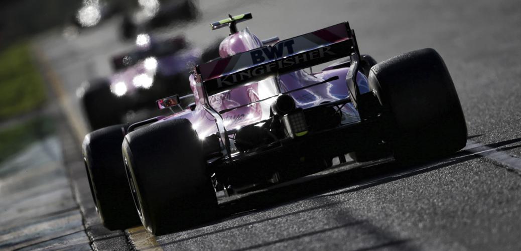 Trasera VJM11, Gran Premio de Australia 2018 - Foto: Force India