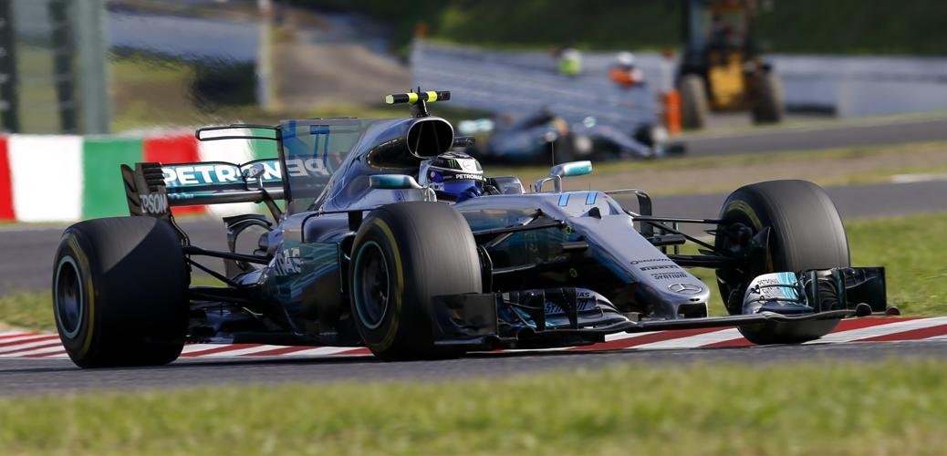 Vista delantera, Mercedes F1 W08, 2017. Foto: Wolfgang Wilhelm (Mercedes F1)