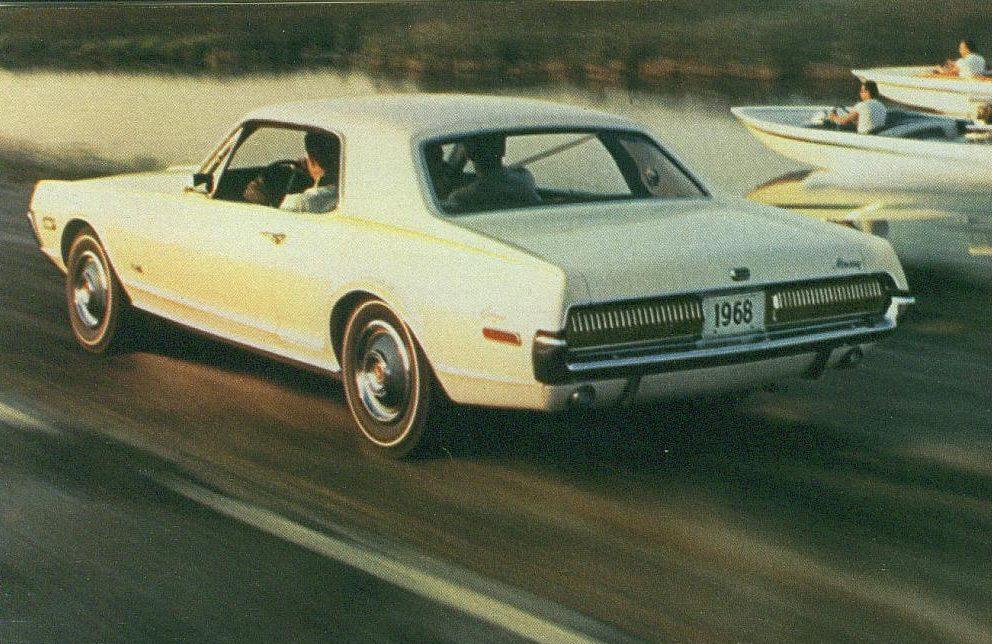 Foto: Mercury Cougar 68. Catálogo Mercury Gama 1968.