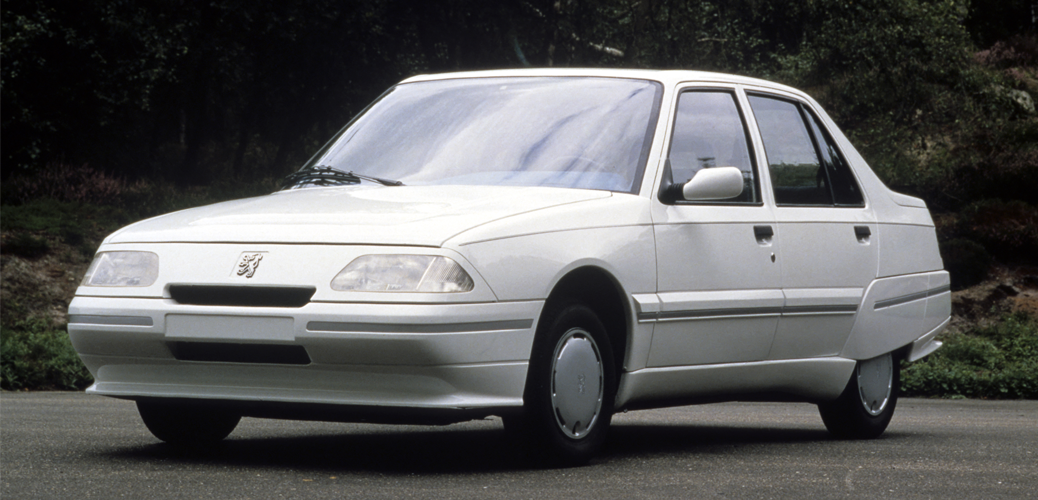 Frontal, Peugeot Vera Profil, 1985 Foto: © Automobiles Peugeot