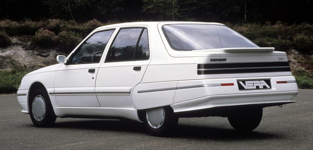Trasera, Peugeot Vera Profil, 1985 Foto: © Automobiles Peugeot