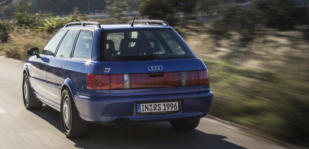 Audi RS 2 Avant, Foto: Audi AG