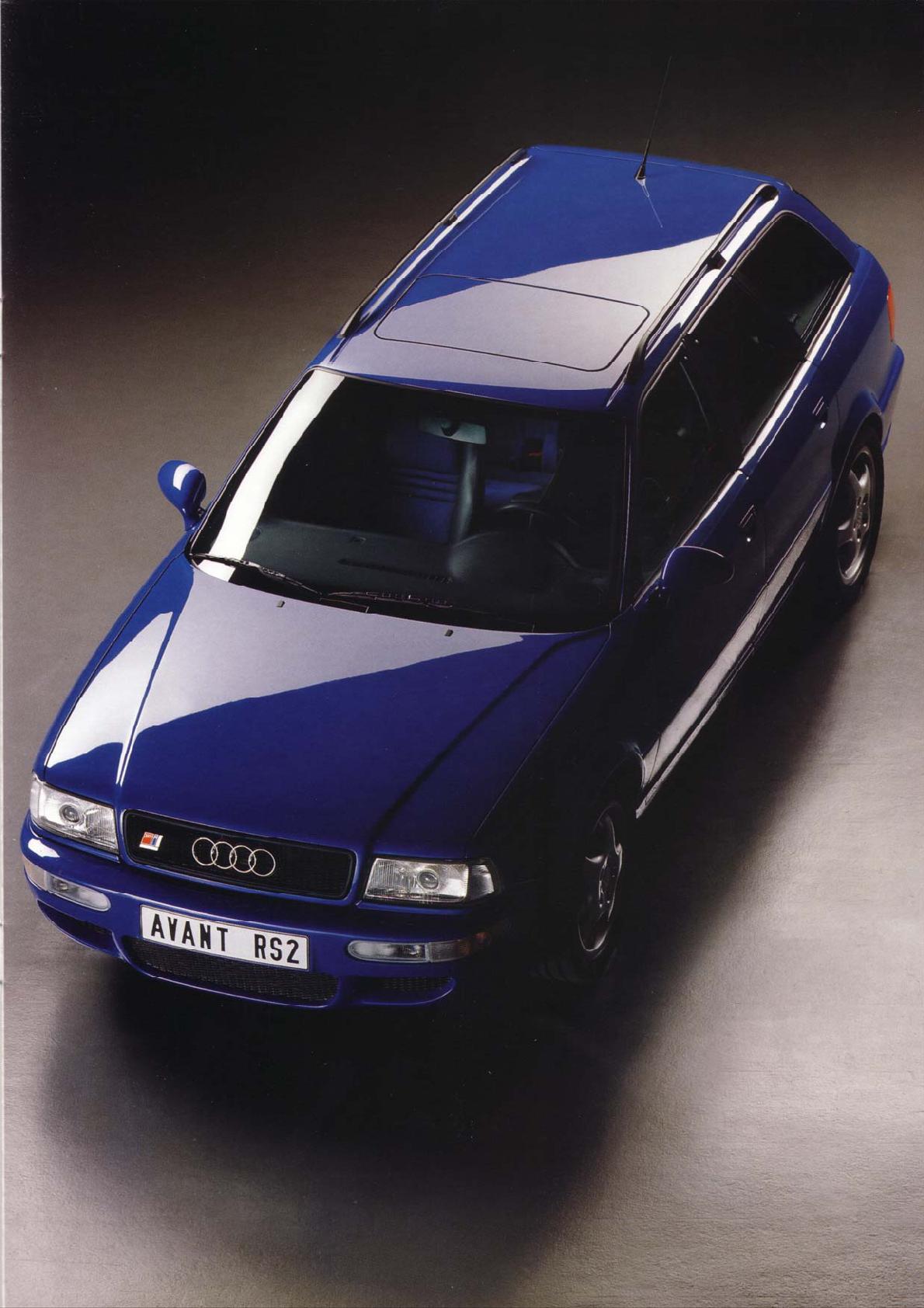 Audi RS2, Foto de Catalogo