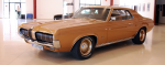 Mercury Cougar Serie 1, 1966-1970