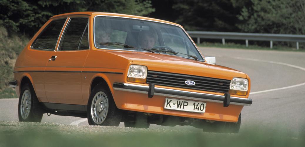 Foto Fiesta Mk1. Foto: Ford